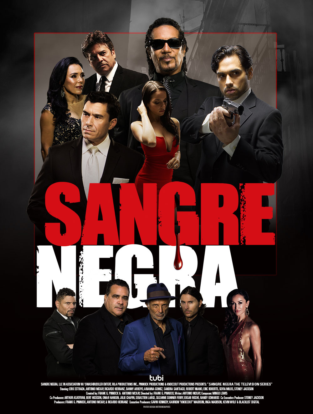 Sangre Negra the Television Series Poster